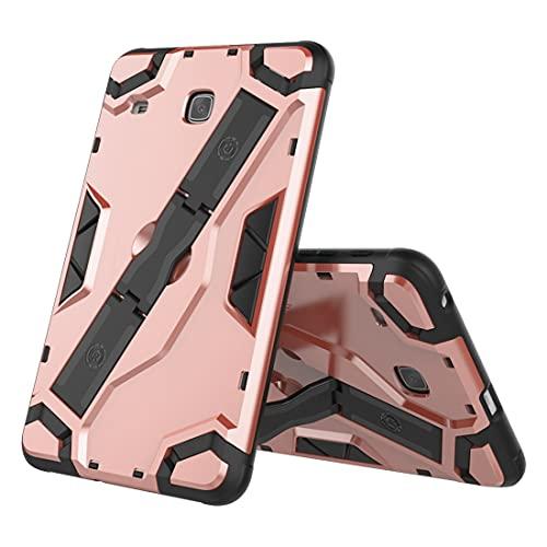 ZHIWEI Tablet PC Bag Custodia per Tablet per Samsung Galaxy Tab E 8.0 (T377), TPU + PC Cover Protettivo Multifunzione Antiurto con Impugnatura Pieghevole Kackstand (Color : Pink)