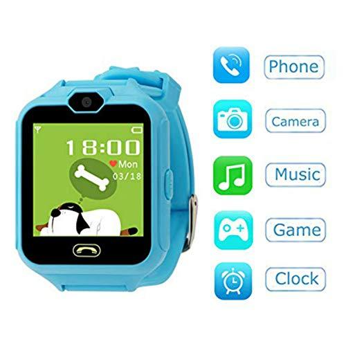Hangang SmartWatch Reloj Kids Teléfono Smart Game Relojes para Niños, Kid SmartWatch Juegos Touch Screen Cool Toys Mirando I Regalos para Chicas Jóvenes