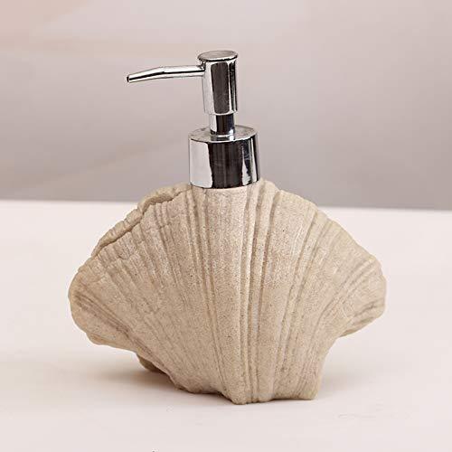 CZOOR 410 ML Kreative Seestern Muschel Keramik Handwaschmittel Abfüllung Hotel Seifenspender Emulsion Bad-Accessoires @ B