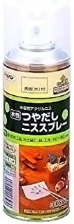 アサヒペン 水性つや出しニススプレー 300ML クリヤ 【まとめ買い3缶セット】