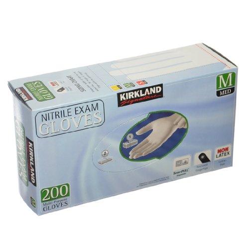Kirkland Nitrile Exam Multi-Purpose Gloves, 200 pack (Medium)