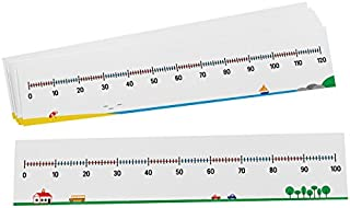 Didax Educational Resources 0-100/0-120 Number Lines, Set of 10
