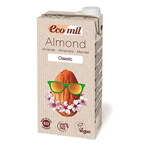 EcoMil Almond Milk Classic - 1 l Mandelmilch Bio, vegan