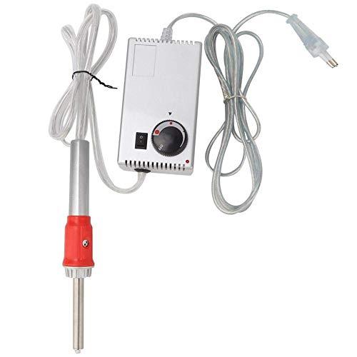 15W Applicatore Strass a Caldo, 220-240V Kit di Installazione Bacchetta applicatore con Strass Hot Fix Fai-da-Te con Trapano, Punte per applicatore, griglia in Ferro e Vassoio