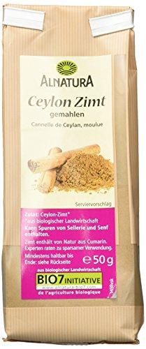 Alnatura Bio Ceylond Zimt gemahlen, 50 g