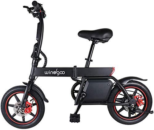 Mangoo Bicicleta Electrica Plegable Urbana E-Bike 36V 350W 25km/h