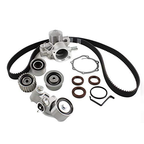 DNJ TBK715WP Timing Belt Kit with Water Pump For 2000-2006 Subaru Baja, Legacy, Outback 2.5L SOHC H4 16V 2458cc EJ251, EJ252, EJ253, EJ259