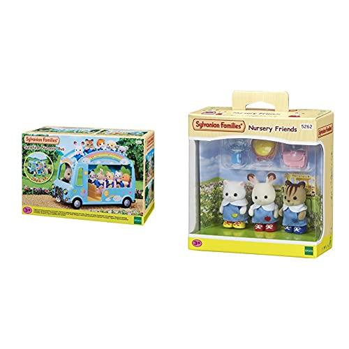 Sylvanian Families 5317 Autobús De La Guardería + Nursery Friends Mini...