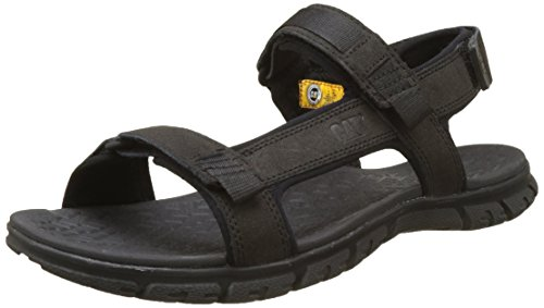 CAT Footwear Herren Atchison Sandalen, Schwarz (Mens Black), 45 EU