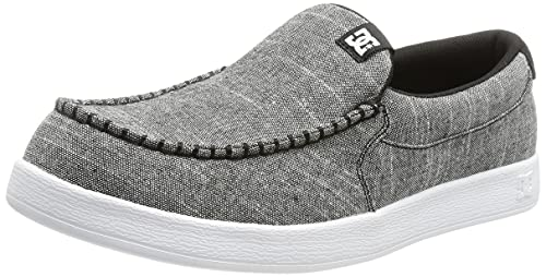 DC Shoes Scoundrel, Zapatillas Hombre, Negro, 45 EU