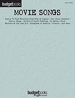 Movie Songs: Easy Piano Budget Books