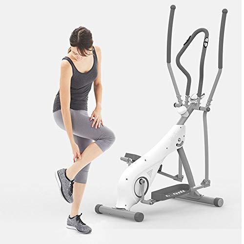 JKGLD Elliptical Machine for Home Elliptical Trainer Elliptical Cross Trainer Exercise Bike-Fitness Cardio Workout Machine for Home Exercise Machine (Color : White, Size : Free Size) 2