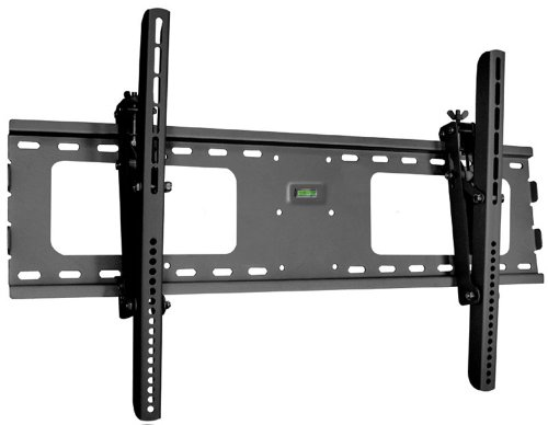 """Black Adjustable Tilt/Tilting Wall Mount Bracket for Sharp PN-Y555 55"""" inch LED Digital Signage"""