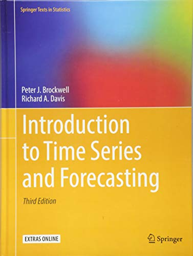 Introduction to Time Series and Forecasting (Springer Texts in Statistics)