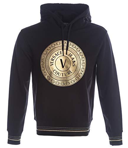 Versace Jeans Couture Soxa Sweatshirts & Fleecetruien Heren Zwart/Goud - L - Sweaters/Sweatshirts Sweater