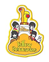 The Beatles Patch イエロー Submarine All Aboard 新しい 公式 Embroidered Iron On