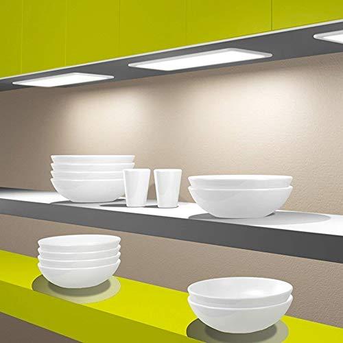 LED Unterbauleuchte Küchenleuchte Panel Küche Unterbaustrahler dimmbar, Auswahl:450mm warmweiß