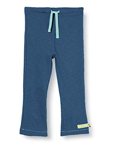 Loud + Proud Pant Waffle Knit Organic Cotton Pantalon, Bleu (Ultramarin UL), 86/92 Bébé garçon