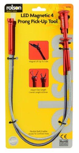 Rolson LED klauw en magnetische pick-up gereedschap