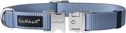 Knuffelwuff 13947-024 ALU Hundehalsband Active 40-60cm, 2,5cm Hellblau