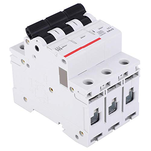 【𝐁𝐥𝐚𝐜𝐤 𝐅𝐫𝐢𝐝𝐚𝒚 𝐋𝐨𝒘𝐞𝐬𝐭 𝐏𝐫𝐢𝐜𝐞】Circuit Leakage Protector, Circuit Breaker, Air Switch 32A 400VAC Electronic Equipment for Building Lighting(32A)