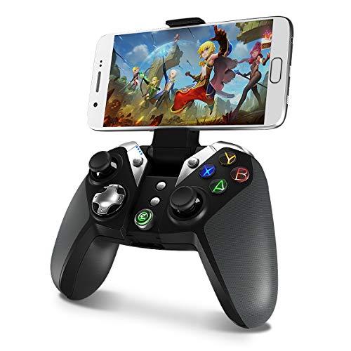 Wireless Bluetooth Game Controller, GameSir G4 Controller Gamepad for Android Phone/TV Box/Samsung Gear VR / Windows7, 8, 8.1, 10 / Oculus/Steam (Renewed)
