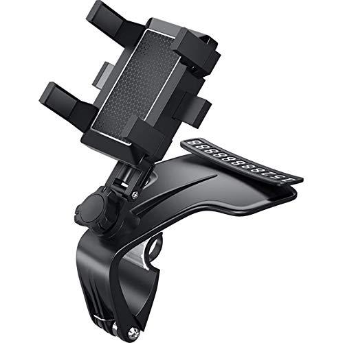 Timpou Universal Car Phone Holder, tablero actualizado con soporte giratorio de 1200 grados, adecuado para teléfonos inteligentes de 3-7 pulgadas
