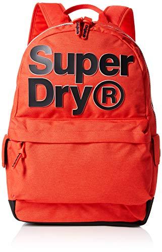 Superdry - 2 Tone Logo Montana, Mochilas Hombre, Naranja (Arancione), 30x45x15 cm (W x H L)