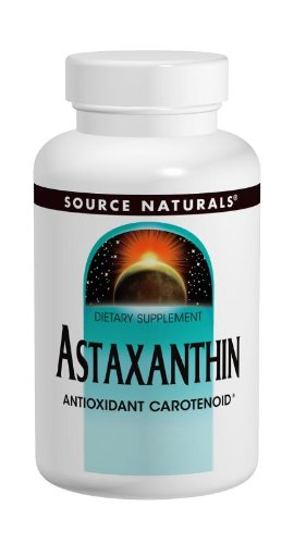 Source Naturals Astaxanthin 2mg High Potency, 100% Pure Algae Extract, Antioxidant Carotenoid Supplement - Powerful Anti-Inflammatory & Support for Skin, Joint, Eye & Immune Health - 30 Softgels