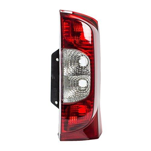 Enva 1358249080 6350ET Bloc feu arrière droit de voiture sans prise