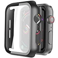 Application: Compatible with series 6/SE 44mm(Released in 2020) & series 5 44mm(2019) & series 4 44mm(2018). Overall protection: This case with glass screen protector is designed to offer external surface protection to your watch without compromising...