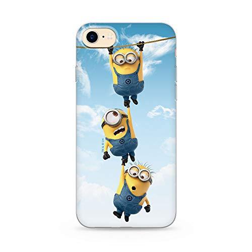 Ert Group DWPCMINS13556 Cubierta del Teléfono Móvil Minions 033 iPhone 7 Plus/ 8 Plus