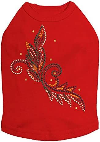 Fall Leaves # 2 Our shop OFFers the best service - Halloween and Rhinestone Dog Shirt mart Bling