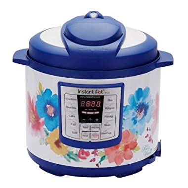 Instant Pot Pioneer Woman LUX60 Breezy Blossoms 6 Qt 6-in-1 Multi-Use Programmable Pressure Cooker, Slow Cooker, Rice Cooker, Saute, Steamer, and Warmer