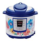 Instant Pot Pioneer Woman Lux60, 6 QT Multi Use Cooker (Breezy Blossom)