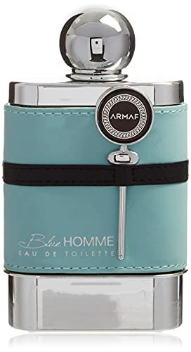 ARMAF Homme Eau De Tolette Spray for Men, Blue, 3.4 oz