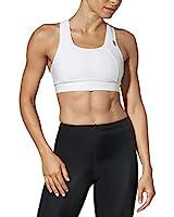 CW-X Women's Xtra Support High Impact Sports Bra, White, 36DD