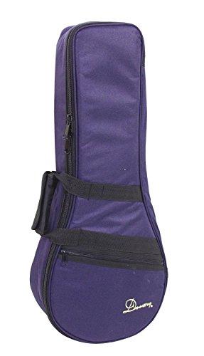 showking Softbag MALLERY für Mandoline mit Rucksackgurt, blau- Mandolinentasche mit Griff/Tragetasche für Mandolinen