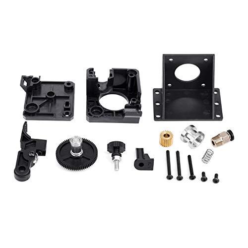 TUZUK Actualización de piezas de extrusora Bowden para CR10, impresora 3D DIY serie Ender 3 compatible con V5 y V6 J Head Hotend [relación de transmisión 3: 1]