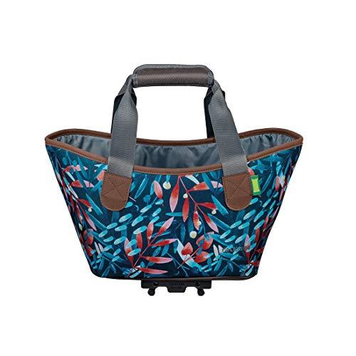 Racktime Unisex– Erwachsene Agnetha Gepäckträgertasche, grün, Einheitsgröße
