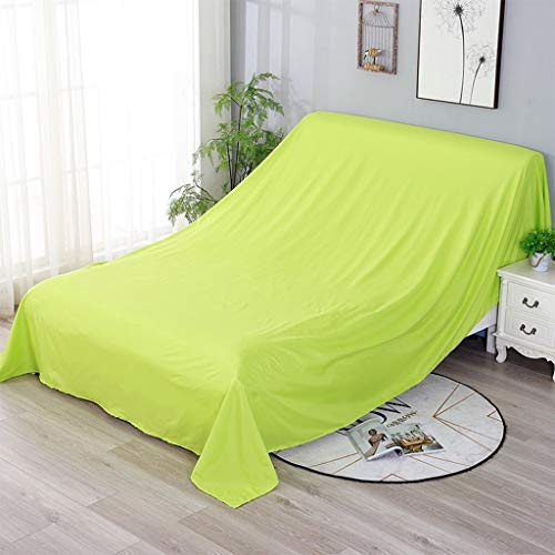 Sofa Covers, hoezen for slaapbank Stoelen en Loveseat, Polyester Fiber ademend, In Home Kitchen Kasten Covers for Moving Protector Dust Sheets House (Color : Orange, Size : 6x3.5m)