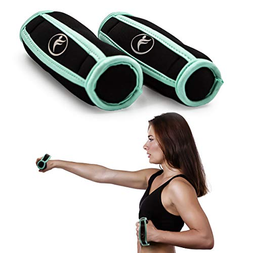 cheap Kole Imports (2 packs of 1 lb walking weights, soft exercise grips, home gym accessories)