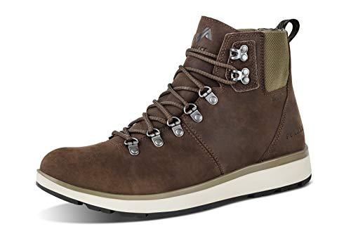 Forsake Davos High - Men's Waterproof Premium Leather Boot (11.5 M US, Mocha)