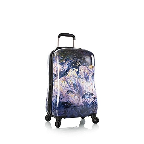 Heys Luggage Purple Amethyst 21 Inch Spinner Carry-On Suitcase