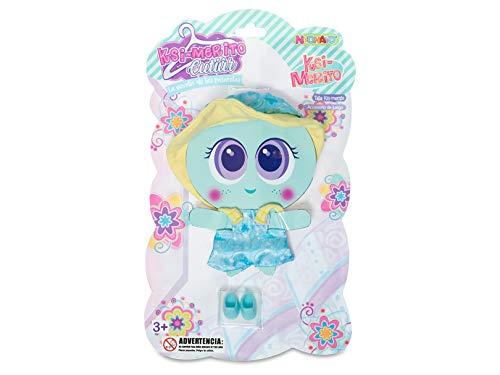 Distroller Ksimerito Nerlie Neonate Baby Doll – Azul, Amarillo Overol con Zapatos y Sombrero Ksimerito Nerlie Nenate Baby