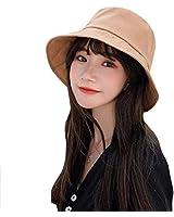 Erinotto 遮陽帽 女士 防紫外線 帽子 遮陽 折疊 防曬 防中暑 時尚 帽子 旅游用 大海 瘦臉效果出眾 四季通用 米色 黑色 黃色 【正品】