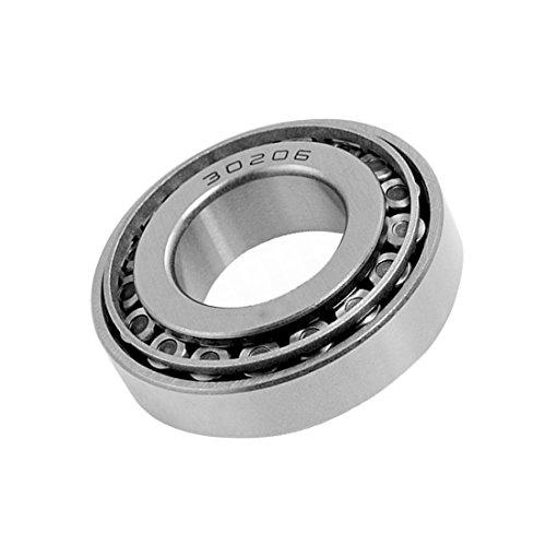 ZXHAO 30206 Standard Tolerance Tapered Roller Bearings 62x30x17mm (2-7/16'x1-3/16'x43/64')