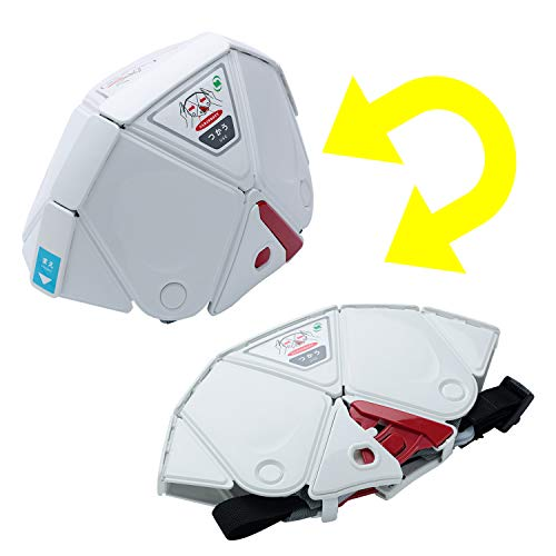 ミドリ安全 折りたたみ 防災ヘルメット TSC10K フラットメット キッズ 国家検定合格品 ホワイト