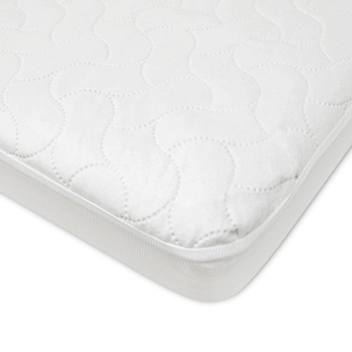 American Baby Company Waterproof Fitted Porta/Mini Crib Protective Mattress Pad