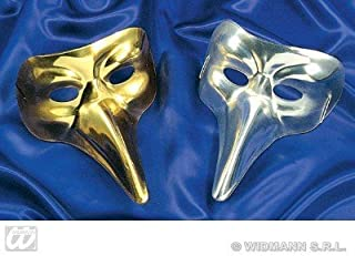 WIDMANN Máscara Veneciana con Pico de Doctor de Plagas, Oro